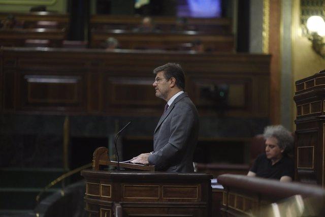 Rafael Catalá en el debate de Presupuestos en el Congreso