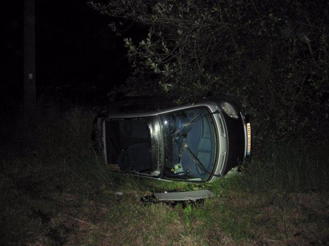 Investigado un conductor de Narón por causar un accidente y darse a la fuga.