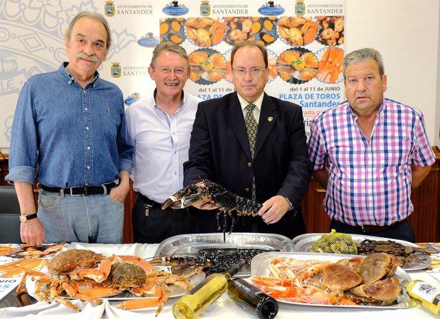 Presentación de la II Feria del Marisco