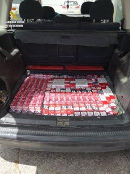 Intervenidas cajetillas de tabaco de contrabando en San Roque