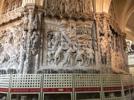 1,4 millones para la restauración del trasaltar de la Catedral de Burgos