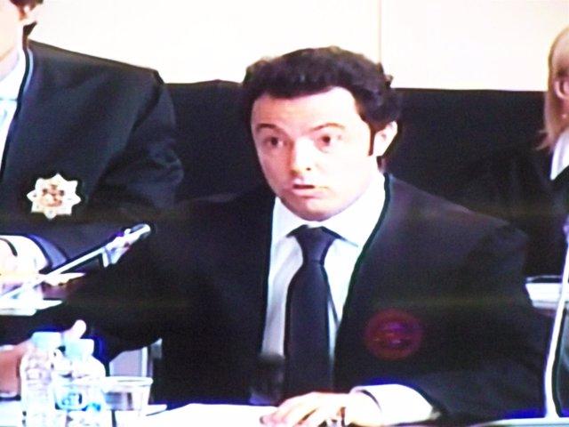 Javier Zuloaga, abogado del Palau de la Música en el juicio del caso Palau