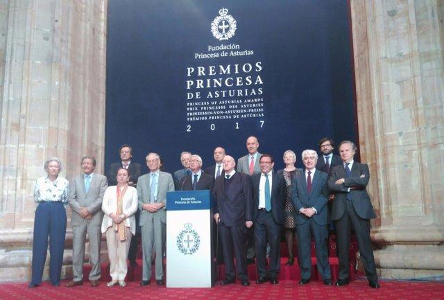 Fallo del premio Princesa de Asturias de Ciencias Sociales 2017