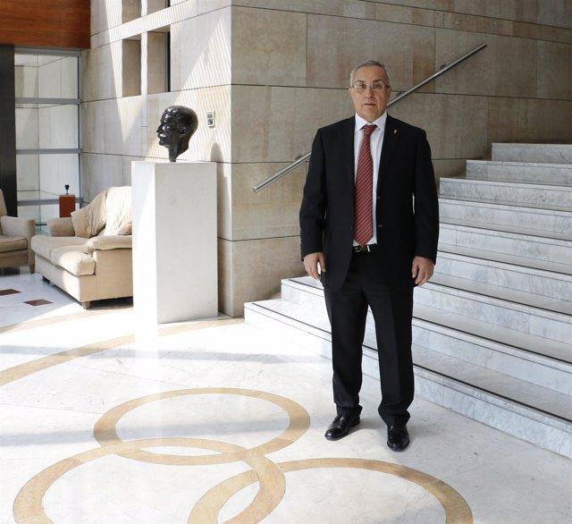 Alejandro Blanco, tras ser reelegido presidente del COE hasta 2021