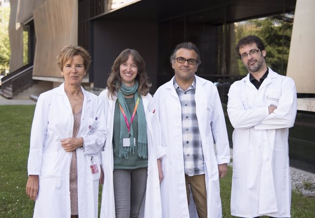 Marisa Gomez, Maite Mendioroz, Julián Libreo e Imanol Arozarena