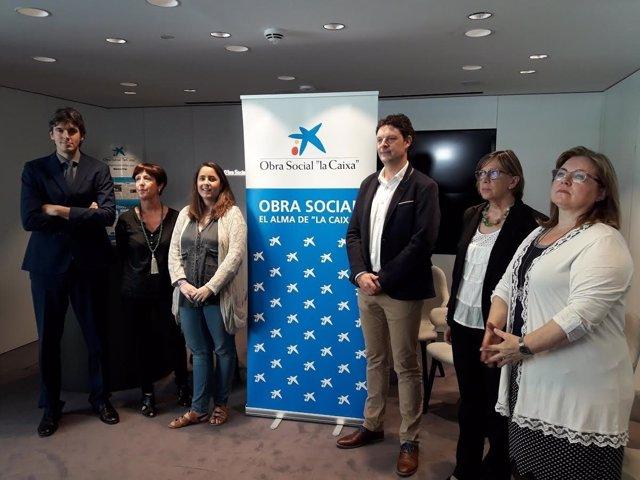 Obra Social La Caixa destina 103.000 euros a cinco proyectos