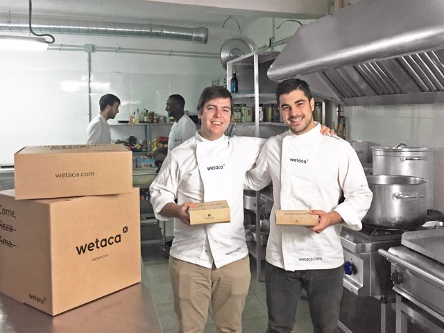 Wetaca, el primer servicio de tuppers de chef a domicilio. Llega a Valencia