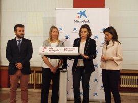 Ayuntamiento y Microbank acuerdan una línea de 1 millón de euros anual para financiación a emprendedores