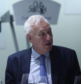José Manuel García Margallo en una conferencia