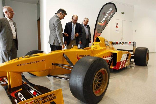 Javier Lambán ha visitado este miércoles Motorland.