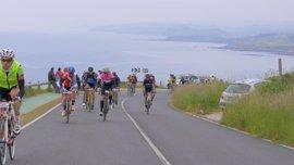 Más de 1.700 participantes en la prueba de ciclismo por carretera de Los 10.000 del Soplao
