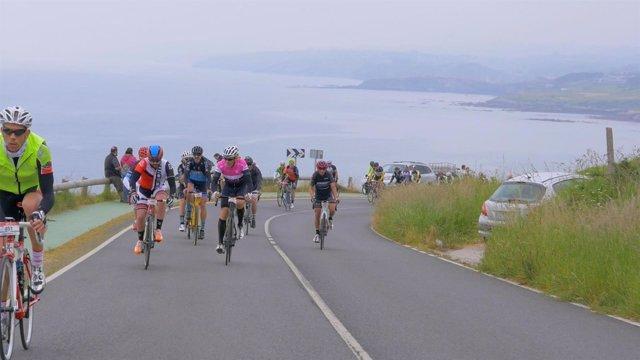 Prueba de ciclismo por carretera del Soplao