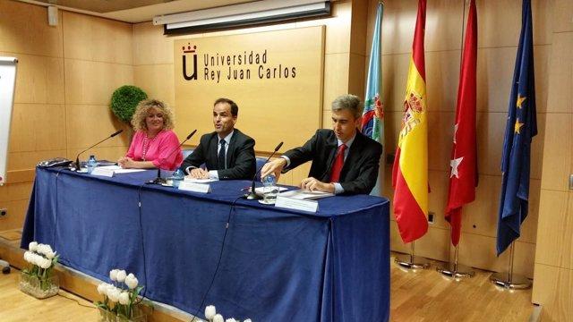 Cristina Moreno, Javier Ramos y David Ortega presentan los Cursos de Verano URJC