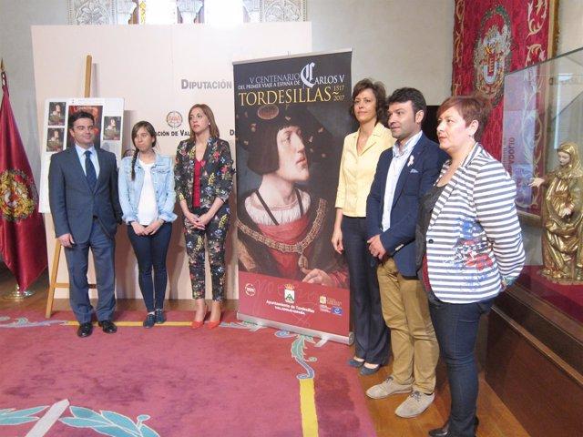 Presentación de los actos que conmemoran la llegada de Carlos V a Tordesillas