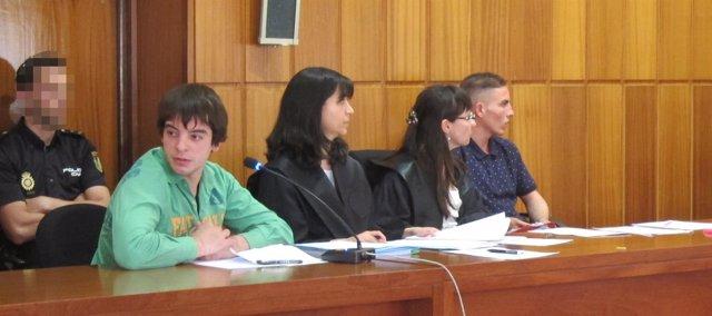 El joven acusado de degollar a una anciana en Alhama durante el juicio