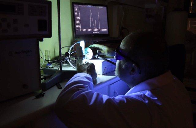LAboratorio de fotobiología en la UMA
