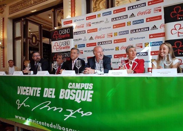 Presentación del Campus de Vicente del Bosque en Estepona