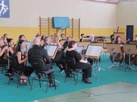 La ROSS cierra en la cárcel de Sevilla-I su ciclo de conciertos de carácter social