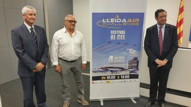 Lleida-Alguaire acoge la cuarta edición del festival aéreo Lleida Air Challenge