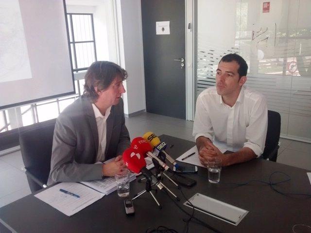 Carlos Martínez y Miguel Cebrián