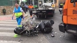 Muy grave un motorista de 67 años tras colisionar con una camión en Pozuelo de Alarcón