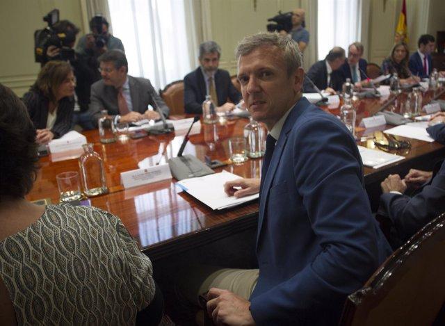 Rueda en la Comisión de coordinación con el CGPJ