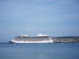 Cerca de 9.000 cruceristas desembarcan en Getxo, a bordo de tres cruceros