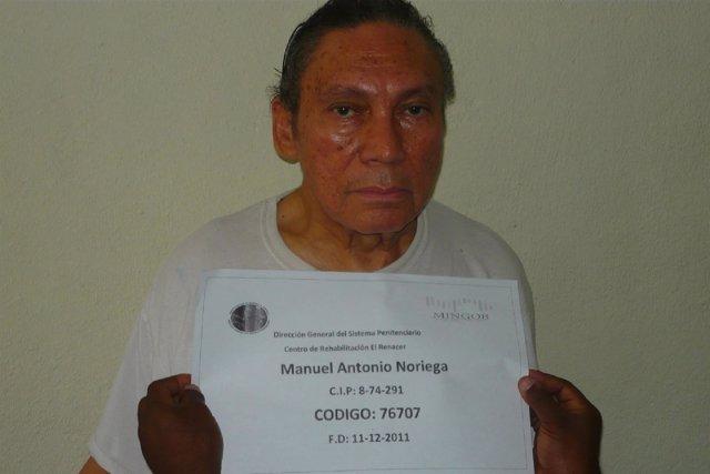 El exdictador de Panamá Manuel Noriega