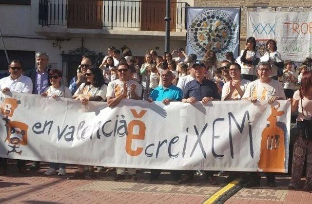 Imagen de archivo de una trobada de Escola Valenciana