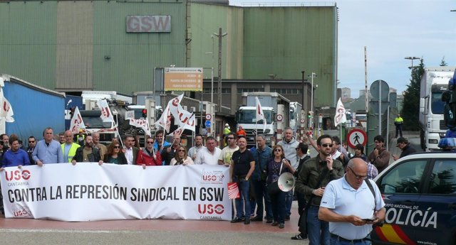Concentración en la entrada a GSW