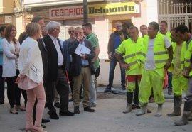 """Puig valora el paso hacia """"la reconstrucción"""" en El Cabanyal y Ribó su conversión en """"un barrio de los buenos"""""""