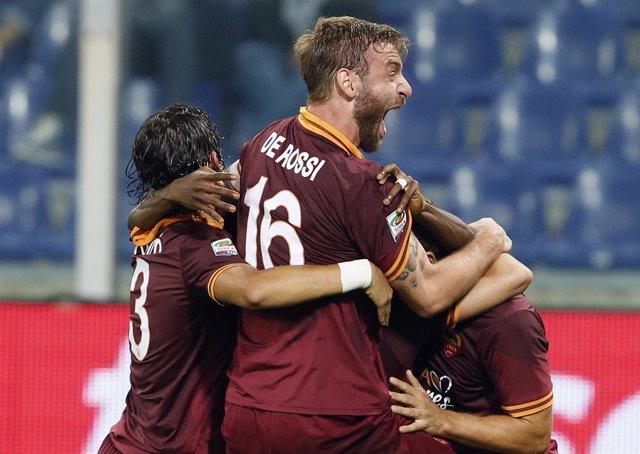 De Rossi con la AS Roma