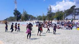 Cerca de 150 alumnos de siete institutos de Palma participan en la clausura del programa IEsportiu