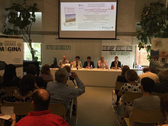 Presentación en Madrid del libro 'Sierra Mágina: territorio literario'