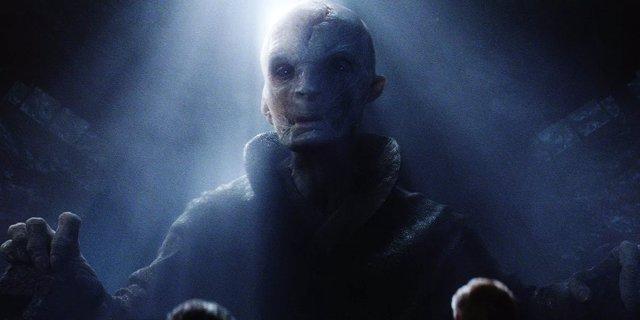 Líder Supremo Snoke en Star Wars