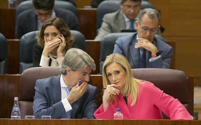 Cristina Cifuentes Pleno de la Asamblea de Madrid