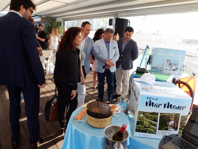 Fotos/ Presentación De La Campaña De Verano 'Este Es M I Mar Menor'