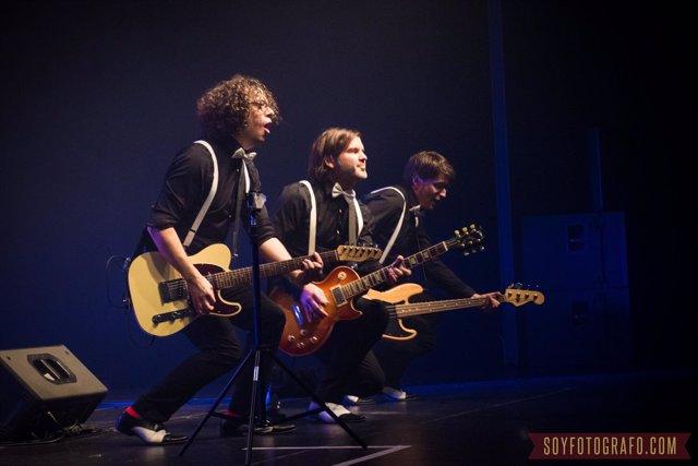 El grupo 'Happening', en concierto.