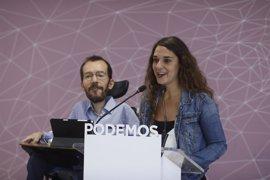 """Vera (Podemos) rechaza la declaración unilateral de independencia porque """"viola la voluntad"""" de votar de los catalanes"""