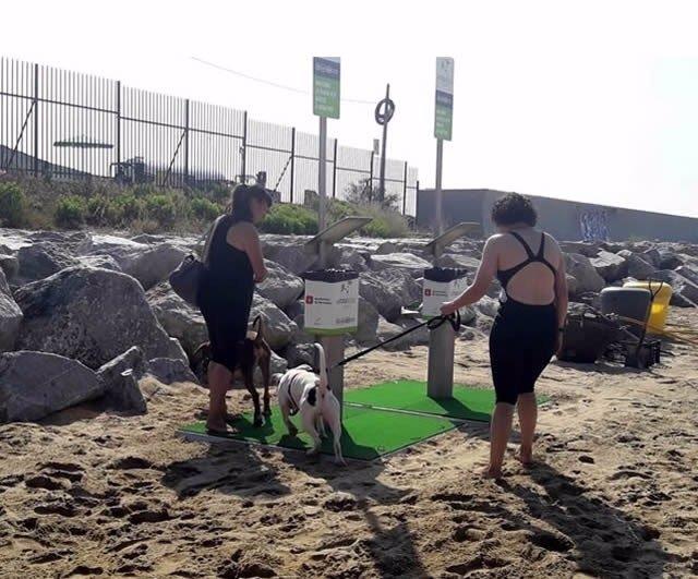 Playa de perros de Barcelona