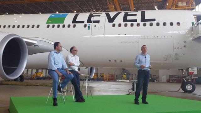 Javier Sánchez-Prieto, Luis Gallego, Willie Walsh (Level)