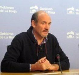 El alcalde de Munilla, Claudio García