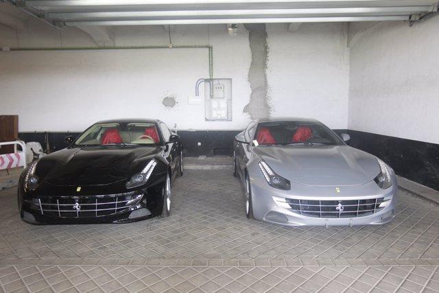 Vehículos de la Marca Ferrari donados por el rey don Juan Carlos a Patrimonio