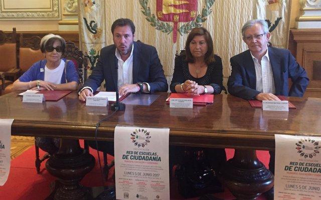 Presentación de la Red de Escuelas de Ciudadanía en Valladolid