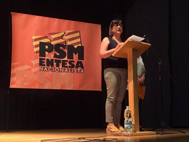 Bel Busquets en el Consejo de Dirección Política de PSM-Entesa