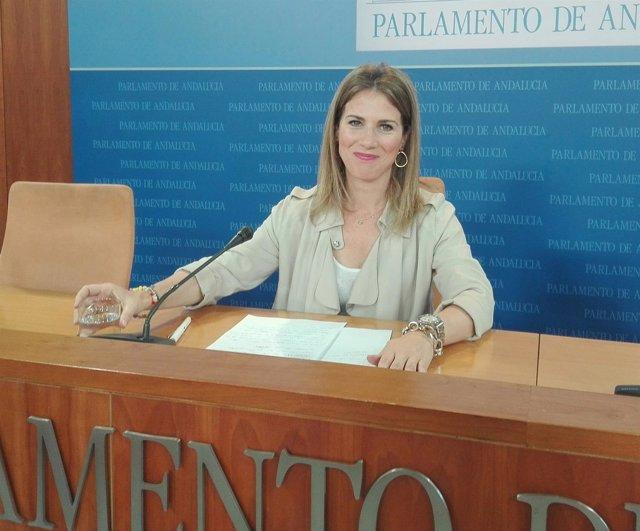Ana Mestre, hoy ante los medios