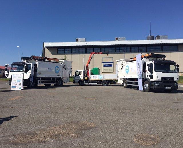 Nuevos camiones de recogida selectiva