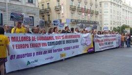 Podemos y En Marea emplazan al PSOE de Sánchez a abrir una comisión parlamentaria sobre el accidente de Angrois