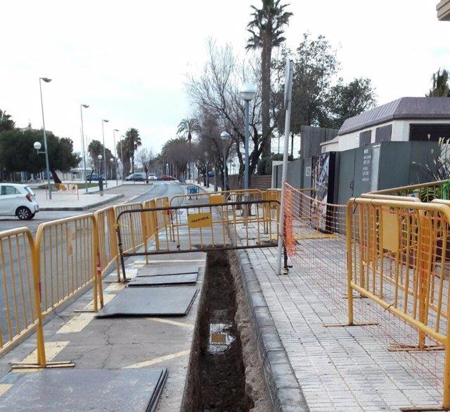 Obras en Salou (Tarragona)