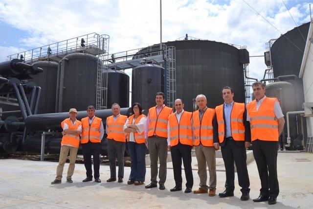 Ayerdi visita la planta HTN Biogás de Carroso